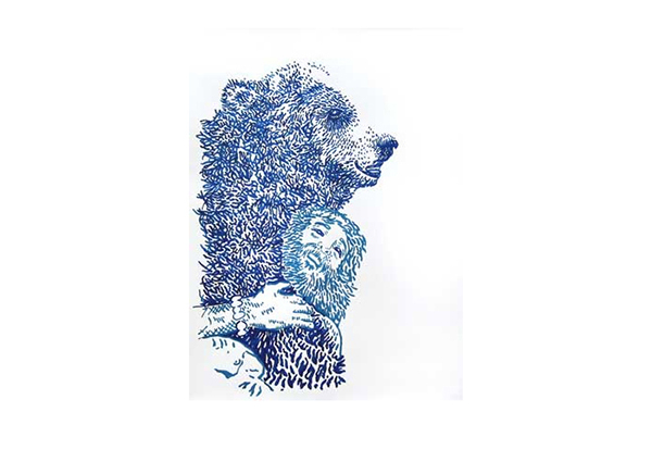 Joey Veltkamp | Bear Hug (blue)